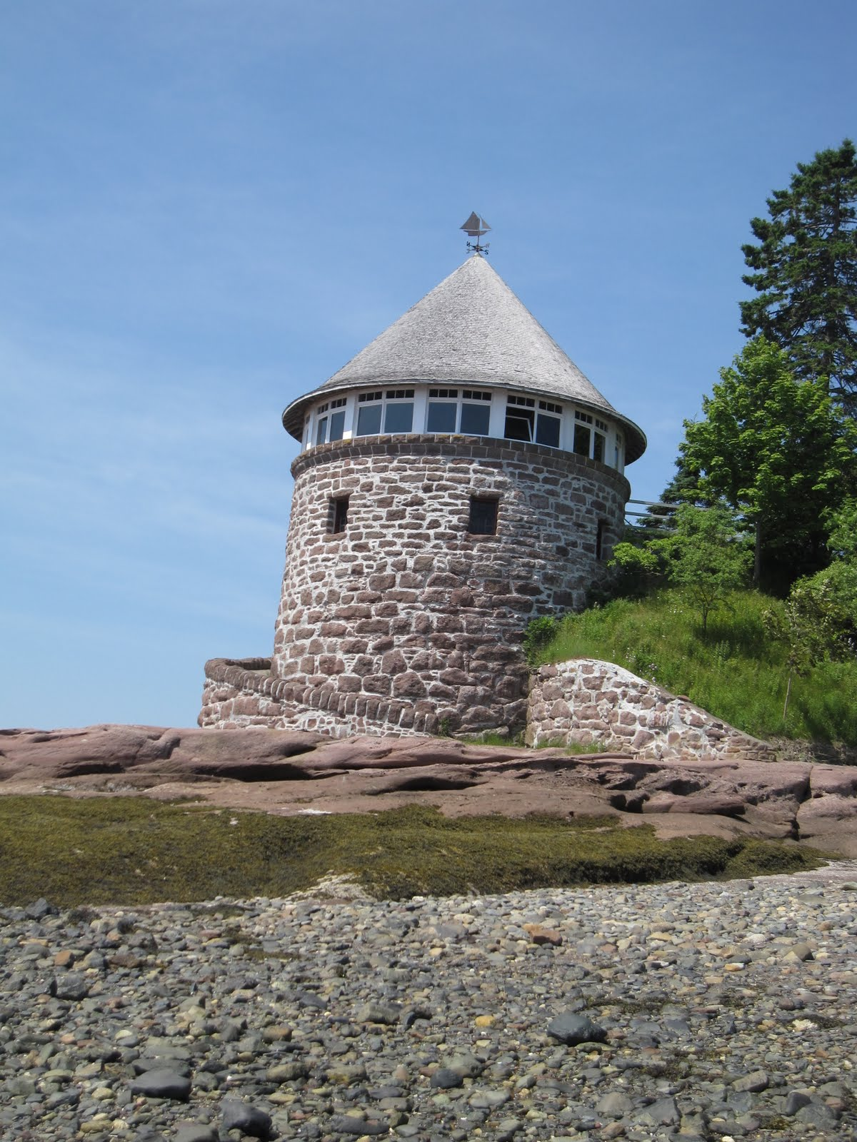 St Andrews New Brunswick Tidal Island