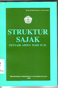 Struktur Sajak Abdul Hadi W.M.