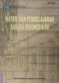Materi Pembelajaran Bahasa Indonesia SD