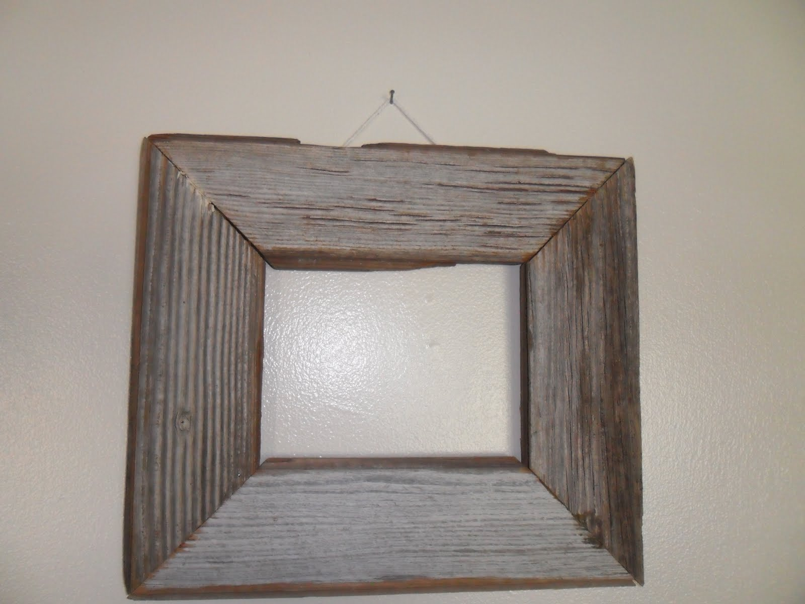 Craft Critters: old wood frame