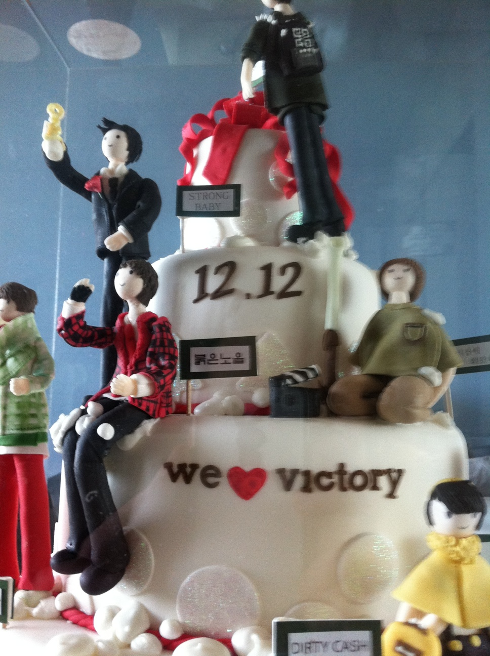 Big Bang Happy Birthday Cakes Pictures