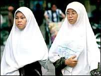 المرأة المسلمة في ماليزيا