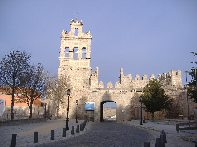Arco del Carmen- Muralla-Avila