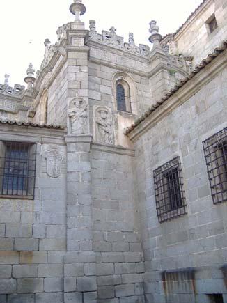 Rincon de la Catedral de Avila