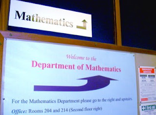 Reading Department of Mathematics