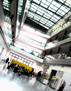 Alan Turing Building interior