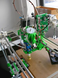 a RepRap machine