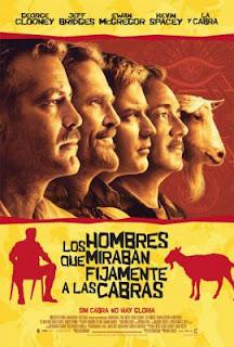 Los hombres que miraban fijamente a las cabras (2010)