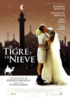 El tigre y la nieve cine online gratis