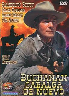 Buchanan cabalga de nuevo (1958)