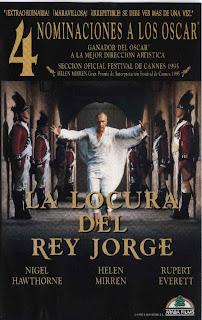 La locura del rey Jorge (1994)