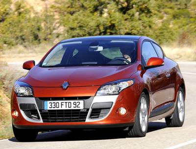 The Renault Megane Coupe in the 2009 range is now available,