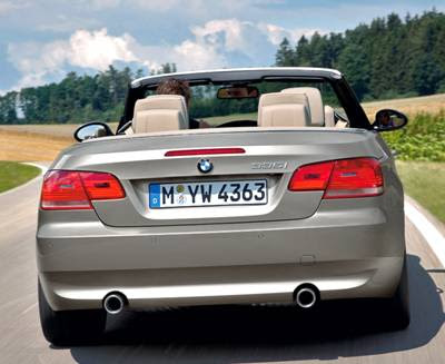 Bmw 3 Series Convertible 2009. 2007 BMW 3 Series Convertible