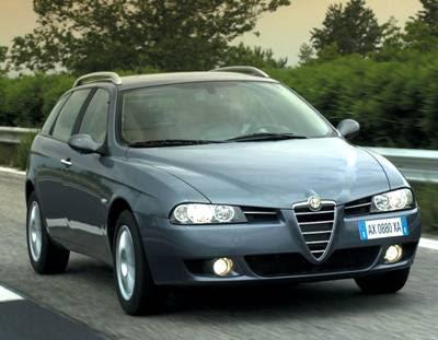 2004 alfa romeo 156 crosswagon q4. 2004 Alfa Romeo 156