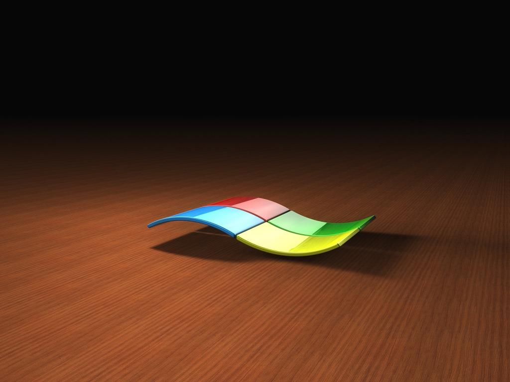 Pozadine za desktop - 3D slike: 3D Windows logo