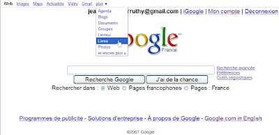 nouvelle interface google france