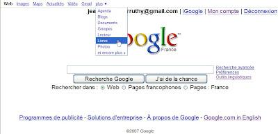 nouvelle interface google france