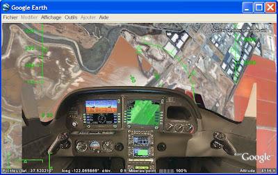 google earth flight simulator sr22