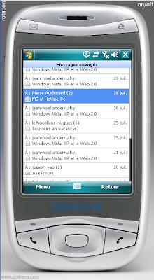 gmail pour mobile