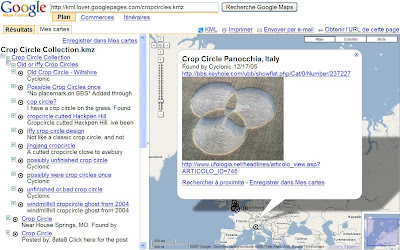 google maps crop circles
