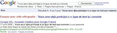 google correcteur orthographique