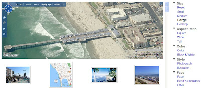 Pacific Beach avec Live Search Images
