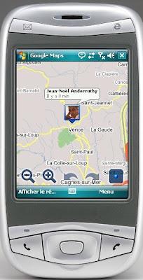 Géolocalisation en temps réel avec Google Latitude