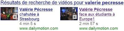 Google Recherche universelle vidéos