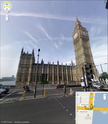 Google Street View en Angleterre