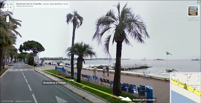 Google Street View à Cannes
