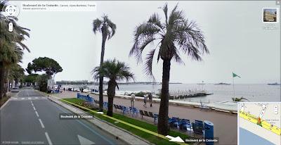 Google Street View à Cannes