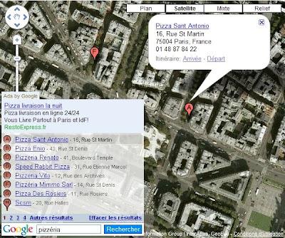 L'API Google Maps et la barre de recherche locale