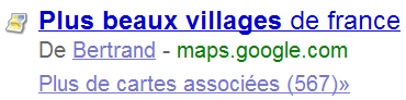 Du contenu utilisateur dans Google Maps