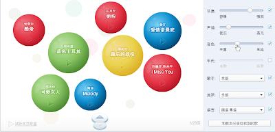 Un portail musical dans Google Chine