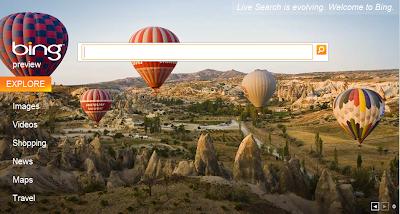 Un nouveau moteur de recherche : Bing