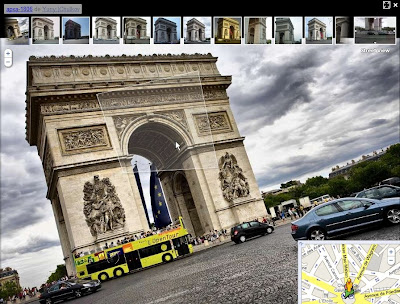Look Around de Panoramio dans Google Street View