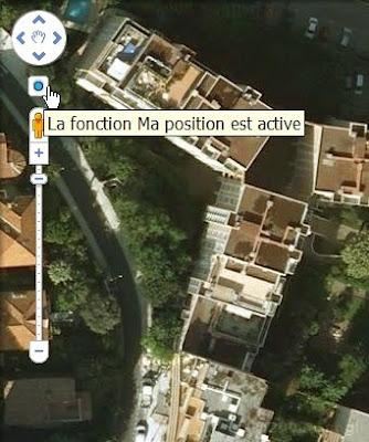 Ma position dans Google Maps