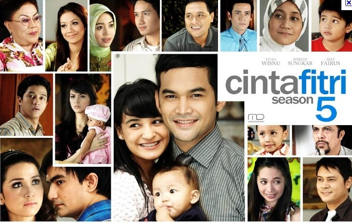 Cinta Fitri the fifth season. The audience always waiting this story,