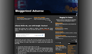 Free Download Blog Template: Simple Design - Bloggerized Adsense