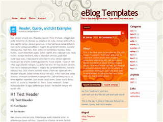 3 Column Template For Blogger - Dilectio