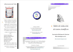 Programa. Taller de Redaccin de Textos Cientficos