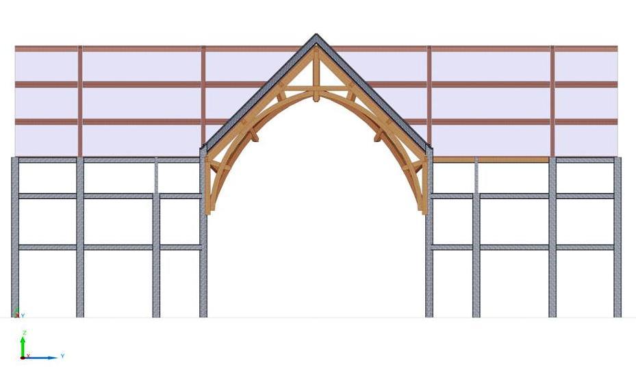 Heavy Timber Construction Church