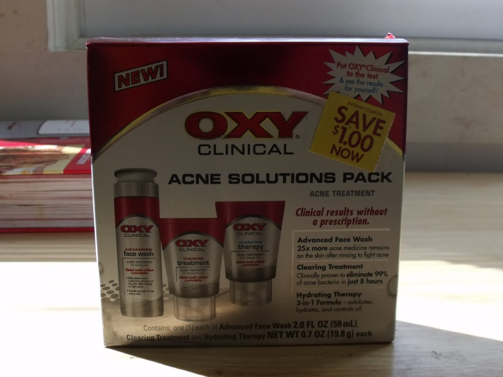 Acne Solutions Pack.