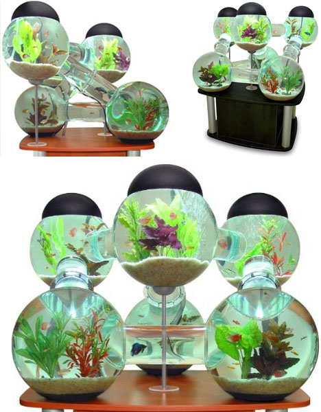 Funtrublog: Awesome Aquariums - 5 Cool Modern Fish Tank Designs