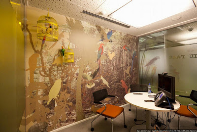 New Russian Google Office With Russian Flavor Seen On www.coolpicturegallery.us