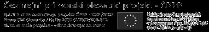 Čezmejni primorski plezalski projekt - ČPPP