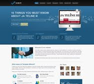JA Halite - Joomla Featured Corporate theme