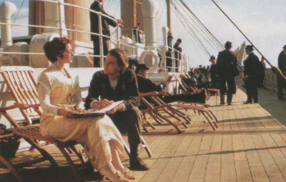 2. The Lake Wissota reference in TITANIC (Dir. James Cameron, 1997) Self