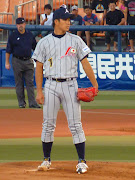 His mound opponent was Yuki Saitoh (Waseda, above) who is probably Japan's .