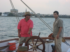 Shipwright Mark Bayne and Captain Arrow